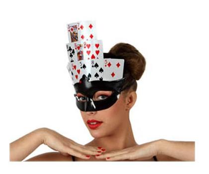 Kaartspel maskers