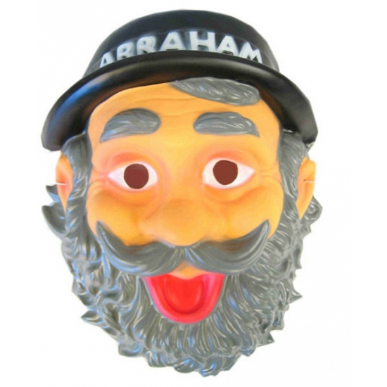 Lachende Abraham masker