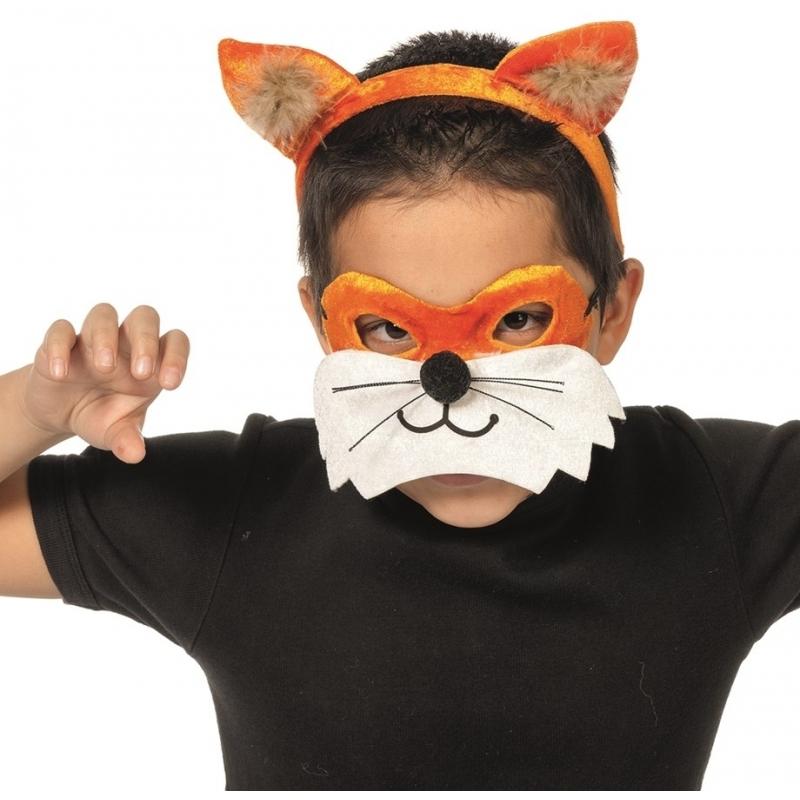 c08ab661fc6 Vos oogmasker met diadeem voor kids € 7.95 alleen bij masker-winkel.nl.